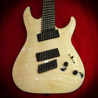 Schecter Guitar C-7 Multiscale SLS Natural