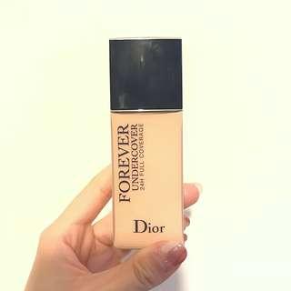 Dior Diorskin Forever Undercover 24H Full Coverage 粉底液