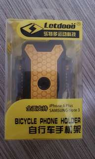Bicycle Phone Holder for iPhone 6 Plus Samsung Note 3