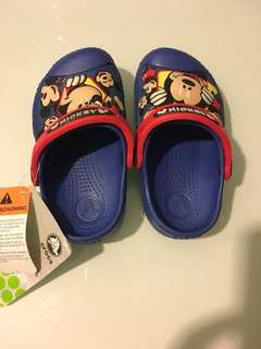 Mickey Mouse crocs brand new