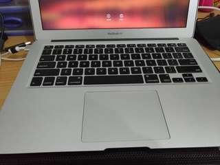 Macbook air 13 early 2015 muluz 95% Like New Fullset