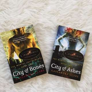 THE MORTAL INSTRUMENTS: CITY OF BONES AND CITY OF ASHES