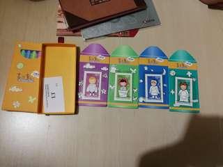 Hong Kong Post Stamp 香港郵政郵票套摺兒童郵票畫出童心