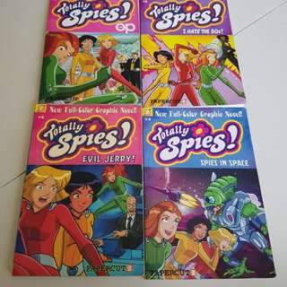 Totally Spies Full-Color Graphic Novels