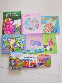 9 Children story books
