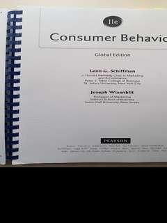CS4074 Consumer Behaviour 11e Pearson Global Edition Photocopied Textbook