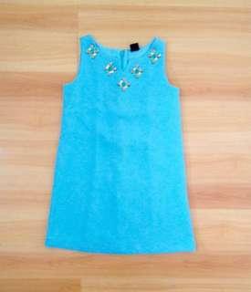 BNWOT Gap Kids Turquoise Dress