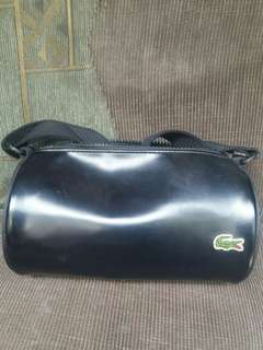 RERICED!!!AUTHENTIC LACOSTE MINI ROLL BAG