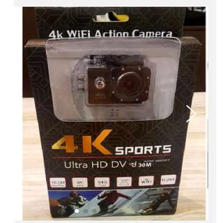 BRAND NEW WIFI 4K ULTRA HD WIDE ANGLE SPORT ACTION CAMERA WITH REMOTE CONTROL