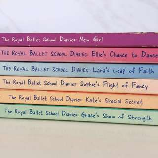 The Royal Ballet School Diaries by Alexandra Moss