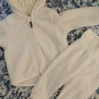 Baby Fleece Jacket and Trousers