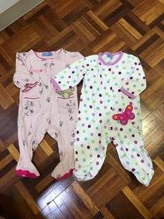 2pcs ASTIN BABY SUIT 3mths