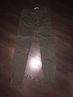 Dex army green jeans