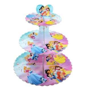 Princess Party Supplies - Princess cupcake stand / dessert stand / party deco