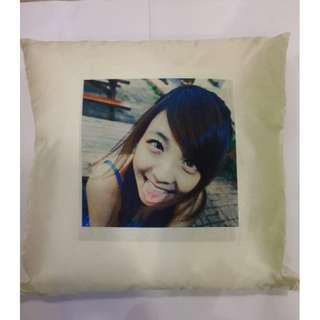 Customized cushion instant print