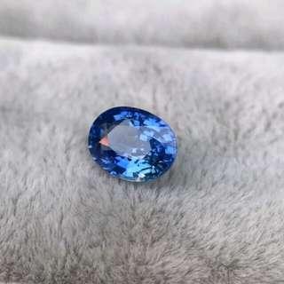 1.11ct unheated cornflower blue sapphire auction
