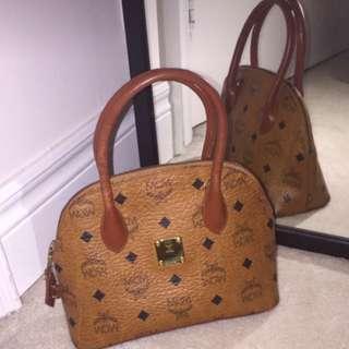 MCM Cognac mini bag