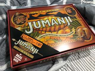 New Jumanji classic board game with real wooden box