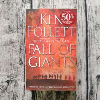 USED BOOK Fall of Giants