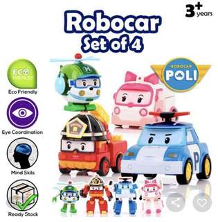 Robocar Poli transformer toys 4 in 1