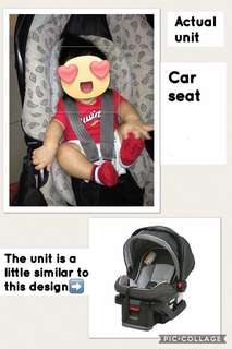 Repriced! rush!!! Graco baby car seat
