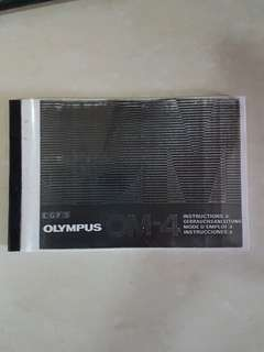 Olympus OM4 manual