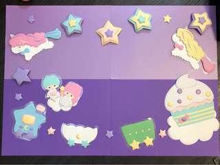 Little twin star 紙雕系列