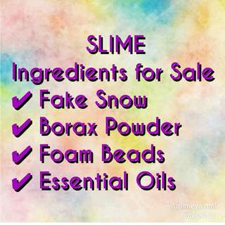 SLIME ingredients