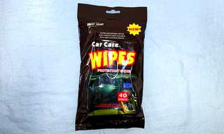 Car Care Leather Wipes