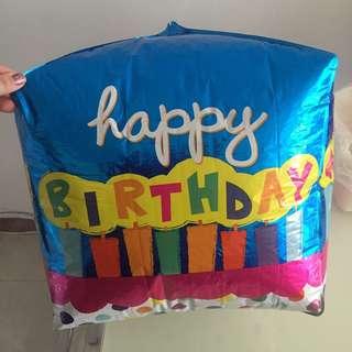 Square balloon