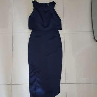 Karimadon Cropped Top Style Long Dress (M)