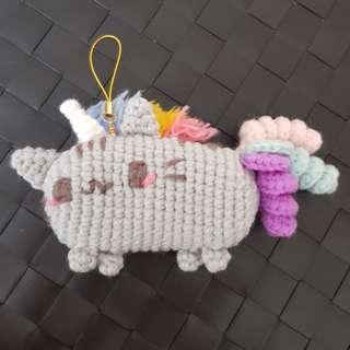 Unicorn Pusheen crochet