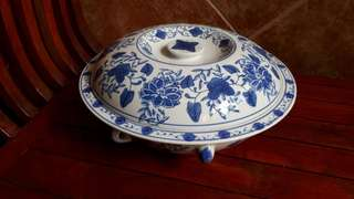 Blue & White Ceramic Pot