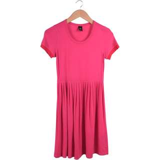 GG<5 Pink Mini Dress