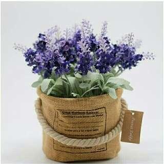 Pajangan lavender vintage