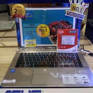Laptop Asus X441NA (Kredit Gratis 1x Angsuran)