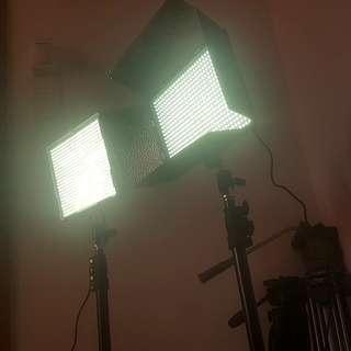 Aputure LED Lights for Videos (Rental)