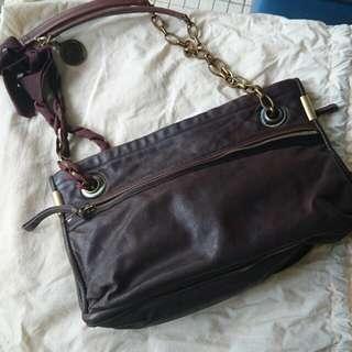 LANVIN Genuine Leather Bag
