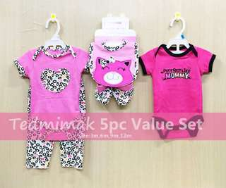 CARTER'S 5-PC VALUE SET for Baby Girl