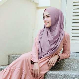 Vanilla Hijab Sala Instan