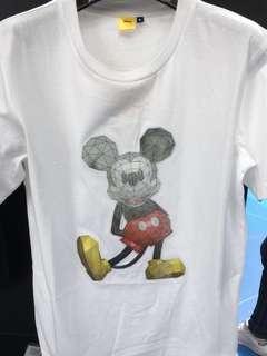 Disney X PolyGo 限定3D立體T-shirt