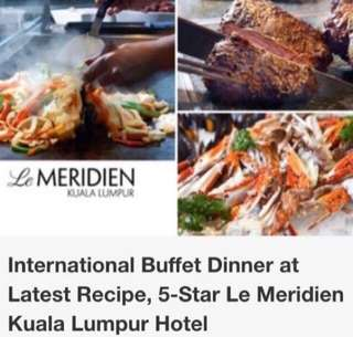 Buffet for 2@Le Meridien