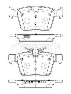 Rear Brake Pads for Land Rover Discovery Sport