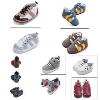 Baby Shoes (0-18mos)