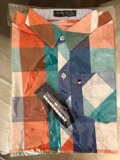 TOMMY HILFIGER multi coloured boys checks shirt