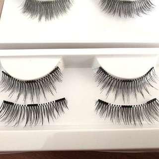 Magnetic lashes - 3 magnet false lashes