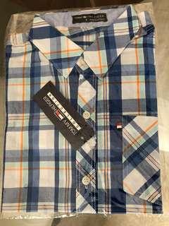 Tommy Hilfiger boys checks shirt