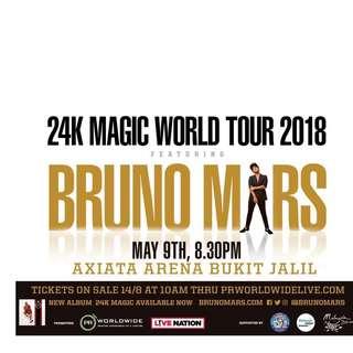 Bruno Mars Concert in Kuala Lumpur