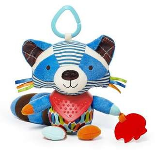 Skip Hop Bandana Buddies Stroller Toy - Raccoon
