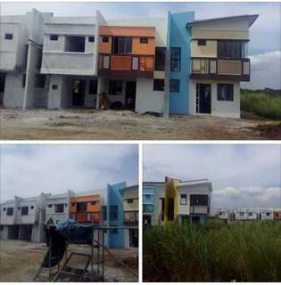 Rent to own - Jubilation Eclave Binan Townhouse inner unit  Resrvation - 20k Lot area - 55sqm Floor area - 50sqm Total contract Price - 1. Downpaymnt - 17.6k x 12 months 20yrs - 13.4k